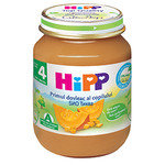 HIPP Био Бебешко пюре/тиква/4м+ 125 гр.